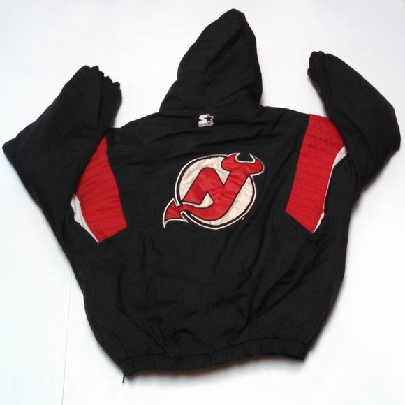 the best attitude 7a1fa 0a678 Vintage Starter New Jersey Devils Jacket Large NHL